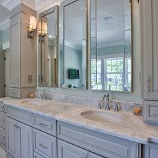 Eclectic Bathroom by Hi-Tech System Assoc., Inc.