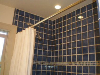 Eclectic Bathroom by On The Beam Remodeling, Inc.