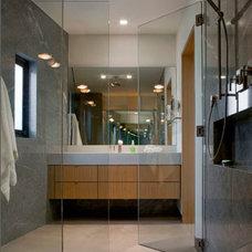Contemporary Bathroom by Customatic.com