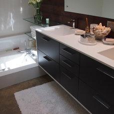 Modern Bathroom by Designer Kitchens LA