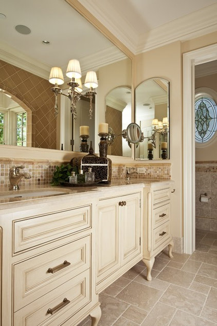 traditional bathroom by Brownhouse Design, Los Altos, CA