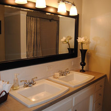 Traditional Bathroom by Diversified Builders