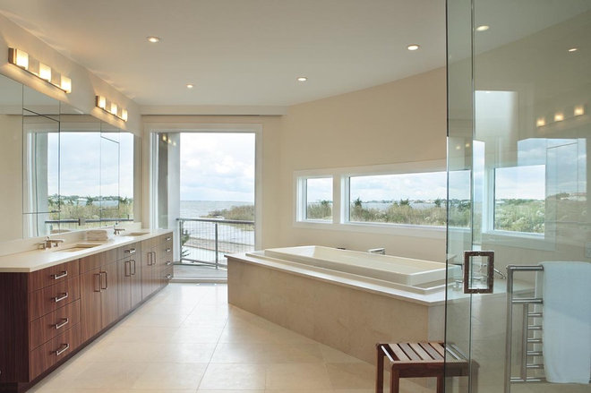 Contemporary Bathroom by Bruce D. Nagel Architect