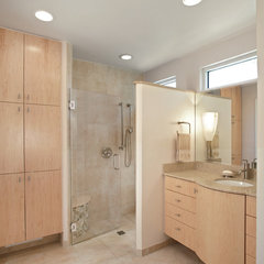 contemporary bathroom by Graf Developments