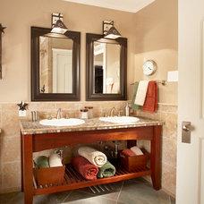 Traditional Bathroom by Graf Developments