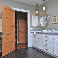 Transitional Bathroom by Greenfield Cabinetry