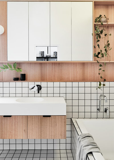 Contemporaneo Stanza da Bagno by Taylor Knights