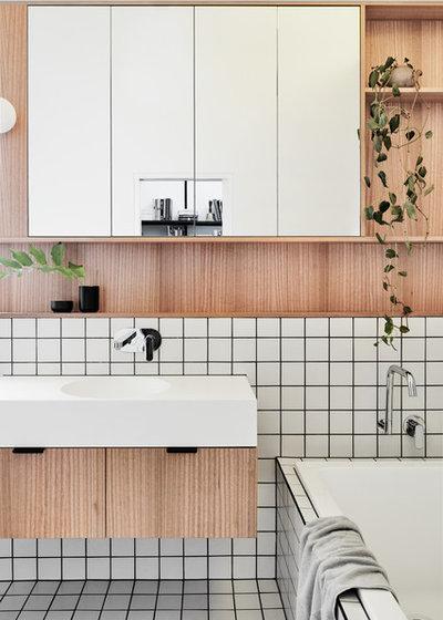 Contemporary Bathroom by Taylor Knights