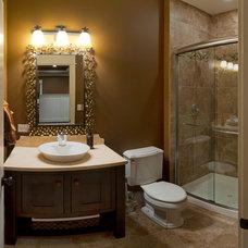 Contemporary Bathroom by Sebring Services