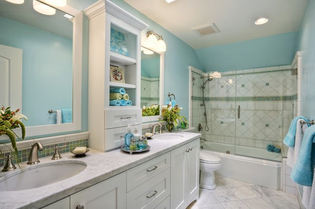 Traditional Bathroom by Fleur de Lis Designs