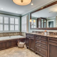 Traditional Bathroom by Victoria Hardy Interiors