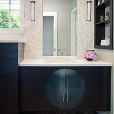 Contemporary Bathroom by CG&S Design-Build