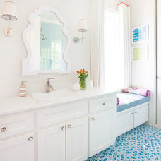 Transitional Bathroom by TMH designs