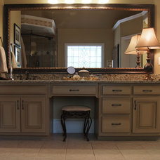 Traditional Bathroom by Creative Cabinets and Faux Finishes. LLC