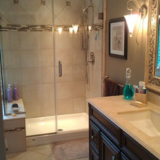 Traditional Bathroom by home sweet home improvements