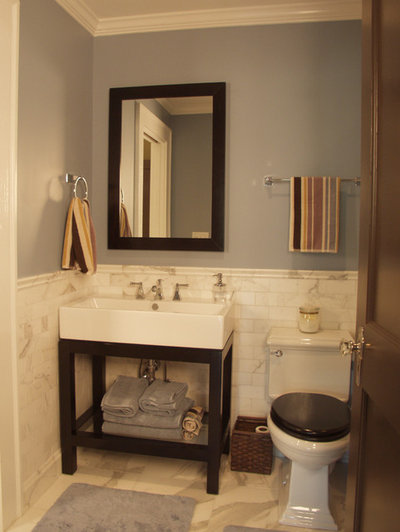 Fresh Traditional Bathroom by Red Level Renovations LLC