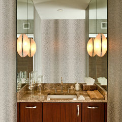 contemporary bathroom by Jay Rambo Co.