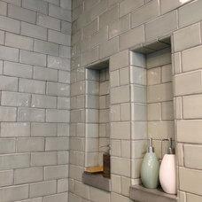 Eclectic Bathroom by Design Build 4U Chicago