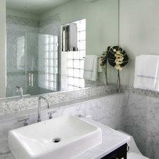 Traditional Bathroom by Lisa Wolfe Design, Ltd
