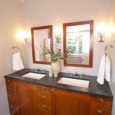 Contemporary Bathroom by Pacific Ridge Construction