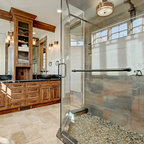 The Cottage Rustic Bathroom Toronto By Parkyn Design