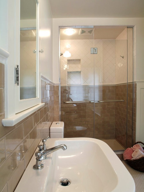 Bathroom design ideas renovations photos with a for Bathroom remodel 101