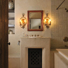 Rustic Bathroom by FGY Architects