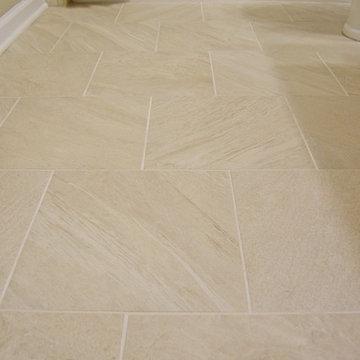 Buford, GA - Hall Bath with Heated Floor