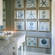 Traditional Bathroom by Tobi Fairley Interior Design