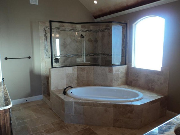 Traditional Bathroom by Couto Homes