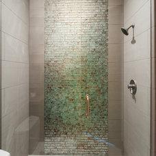 Traditional Bathroom by Cameo Homes Inc.