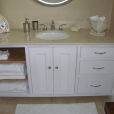 Traditional Bathroom by A.B. Powell Woodworks
