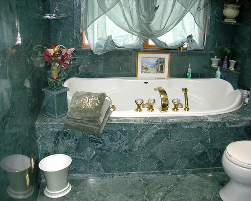 Empress Green Marble Bathroom Home Design Ideas Pictures