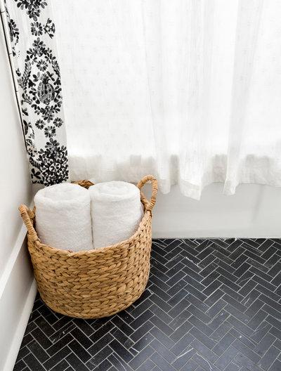 Modern Bathroom by Delphinium Design