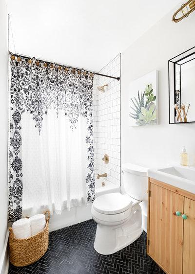 Coastal Bathroom by Delphinium Design