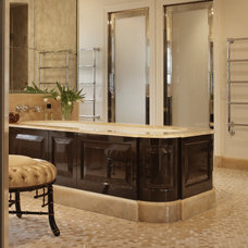 Traditional Bathroom by Mary Durack Interior Design