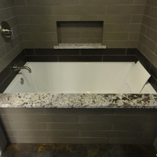 Contemporary Bathroom by M.H.M.Remodeling