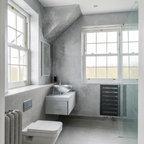 Modern Reincarnation Of Traditional Victorian Bathroom