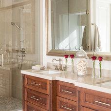 Traditional Bathroom by David Small Designs