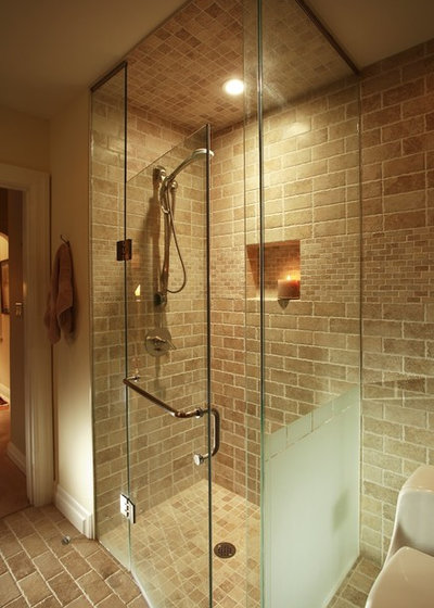 Eclectic Bathroom by Joanne Jakab Interior Design