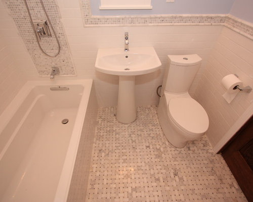 Bungalow bathroom houzz for Californian bungalow bathroom ideas