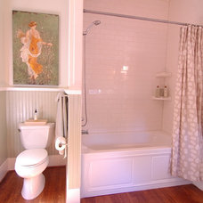 Traditional Bathroom by CB Construction Company