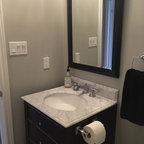 Bathroom Reno In The Kingsway Contemporary Bathroom