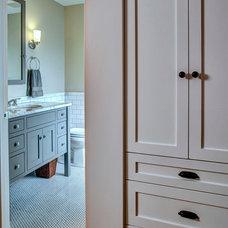 Craftsman Bathroom by Board and Vellum