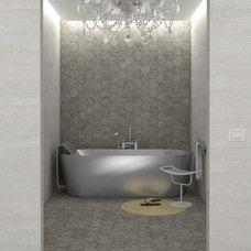 Contemporary Bathroom by Designtra.com