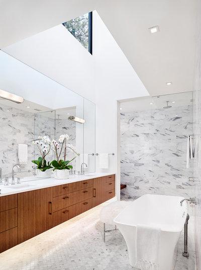 Современный Ванная комната by BF Homes LLC.