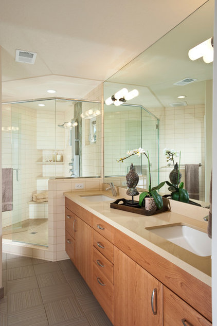 Asian Bathroom by Timeline Design