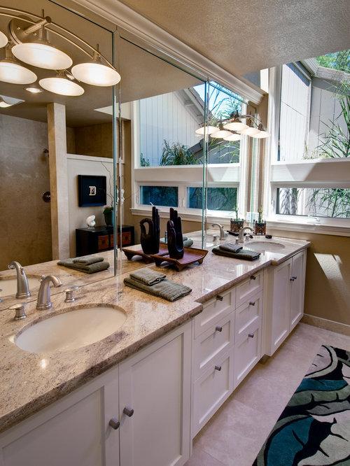 Custom Bath Double Vanity custom double vanity | houzz