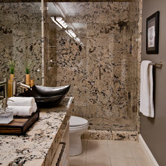 contemporary bathroom by Almaden Interiors, Inc.