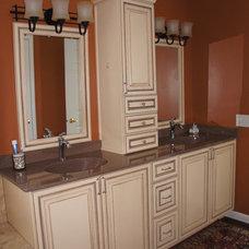 Contemporary Bathroom by Hurst Total Home, Inc.